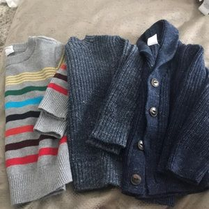THREE GAP dress up sweaters 18-24 months